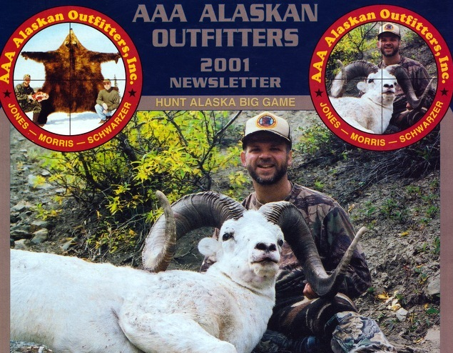 """This was AAA's last 40"""" ram and our largest ever B&C scoring ram. It was taken by Bob Shearer, Jr in the Canyon Creek breaks. It was a 42 2/8 incher that scored 169 4/8 B&C."""