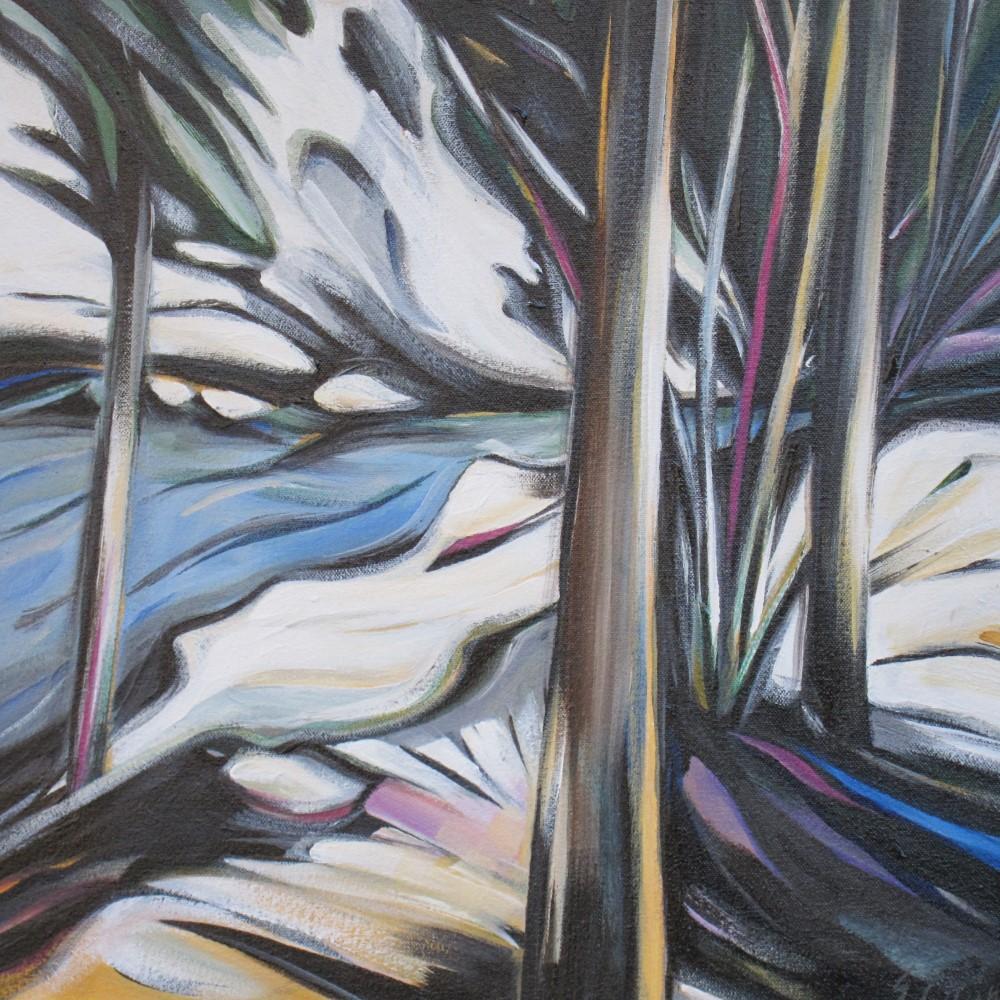 Spring Melt Streamside (Toby Creek)