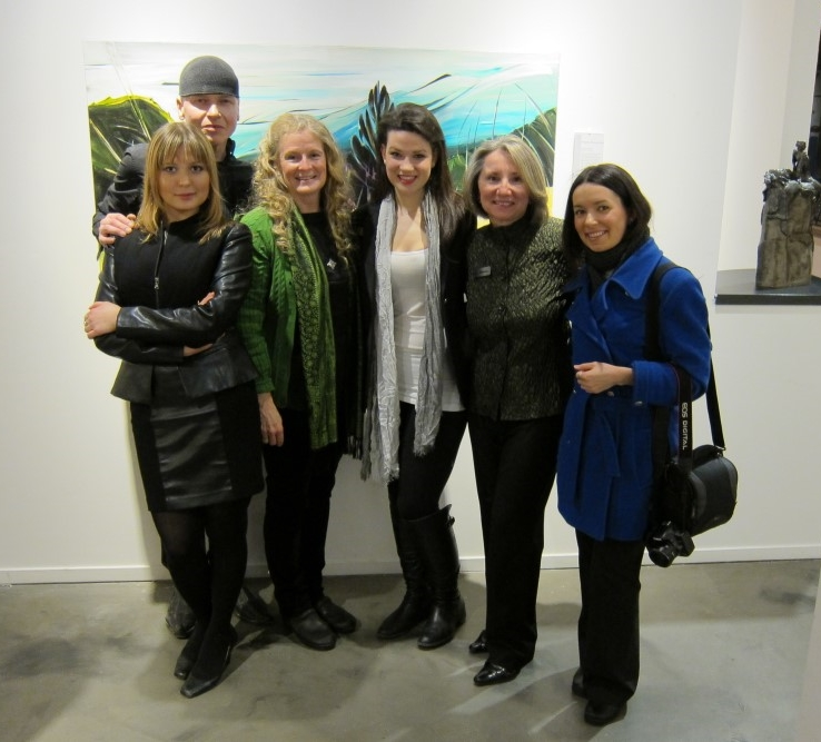 Failte Abhaile (Welcome Home) March 2012 <br> Artworks Gallery, Vancouver, BC