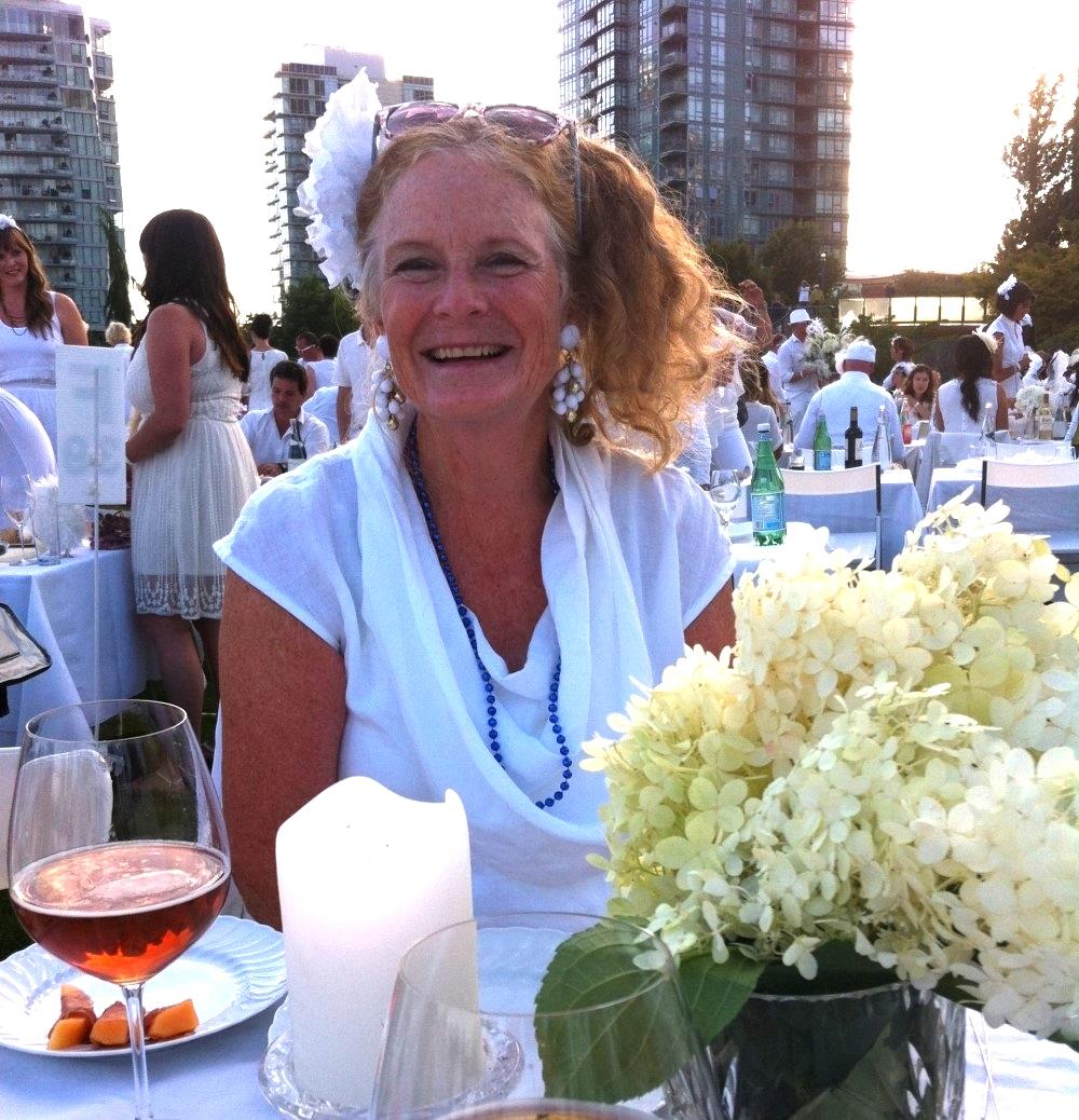 Diner en Blanc  August 2014 <br>David Lam Park, Vancouver, BC