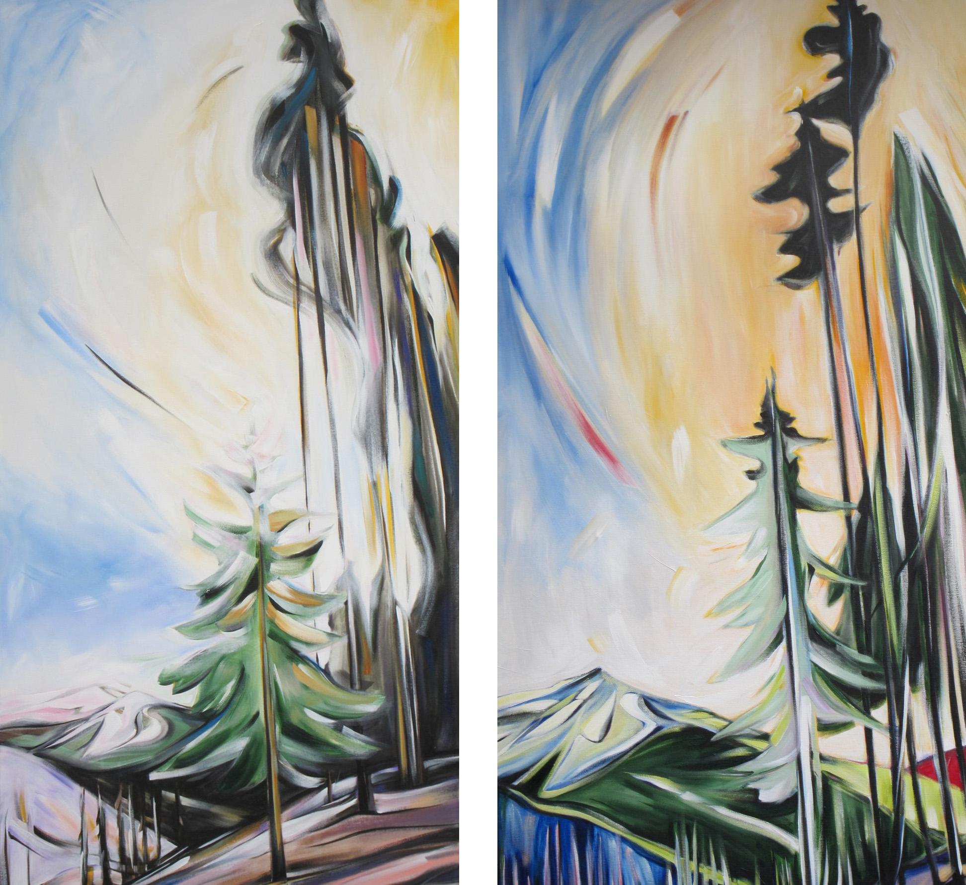 Veiled Skylight for Faure #1 & #2 (Panorama Series)
