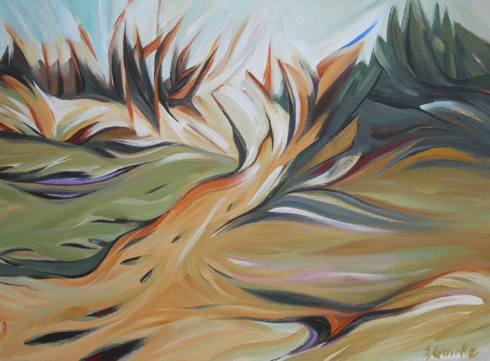 BC Gold Landscapes - Coton Easter Banks  18 X 24  SOLD (1000 x 750).jpg