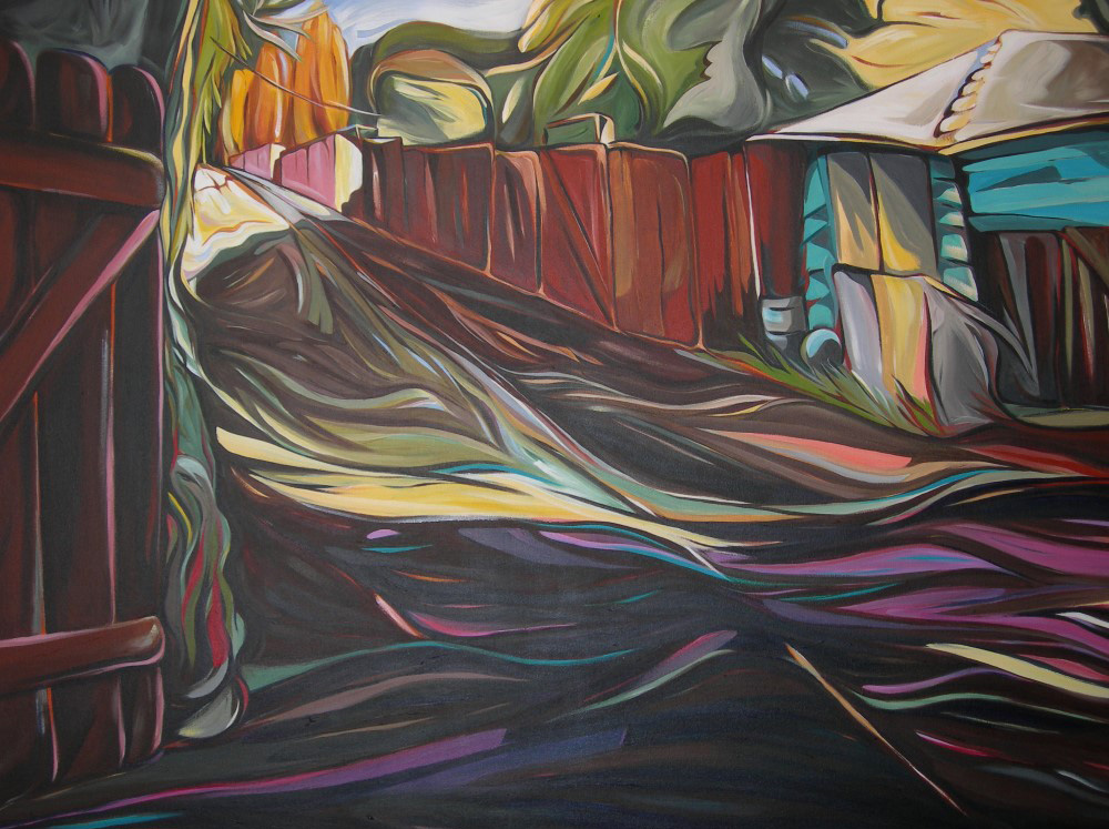 BC Gold Landscapes - LombardiPoplar and Summer Cherry  48 X 60  SOLD (1000 x 750).jpg