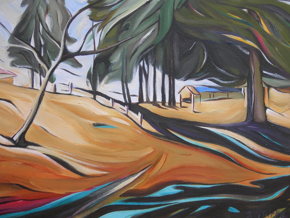BC Gold Landscapes - Park Gates  18 X 24  SOLD (1000 x 750).jpg