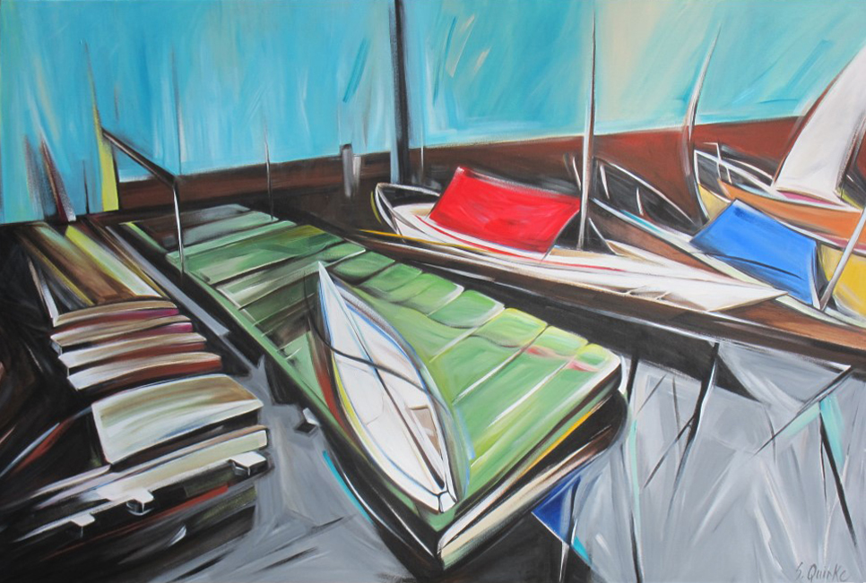 Wooden Boat 2013 - 15 -  Dockside (WBS #16)  40 X 60  SOLD (1000 x 667).jpg