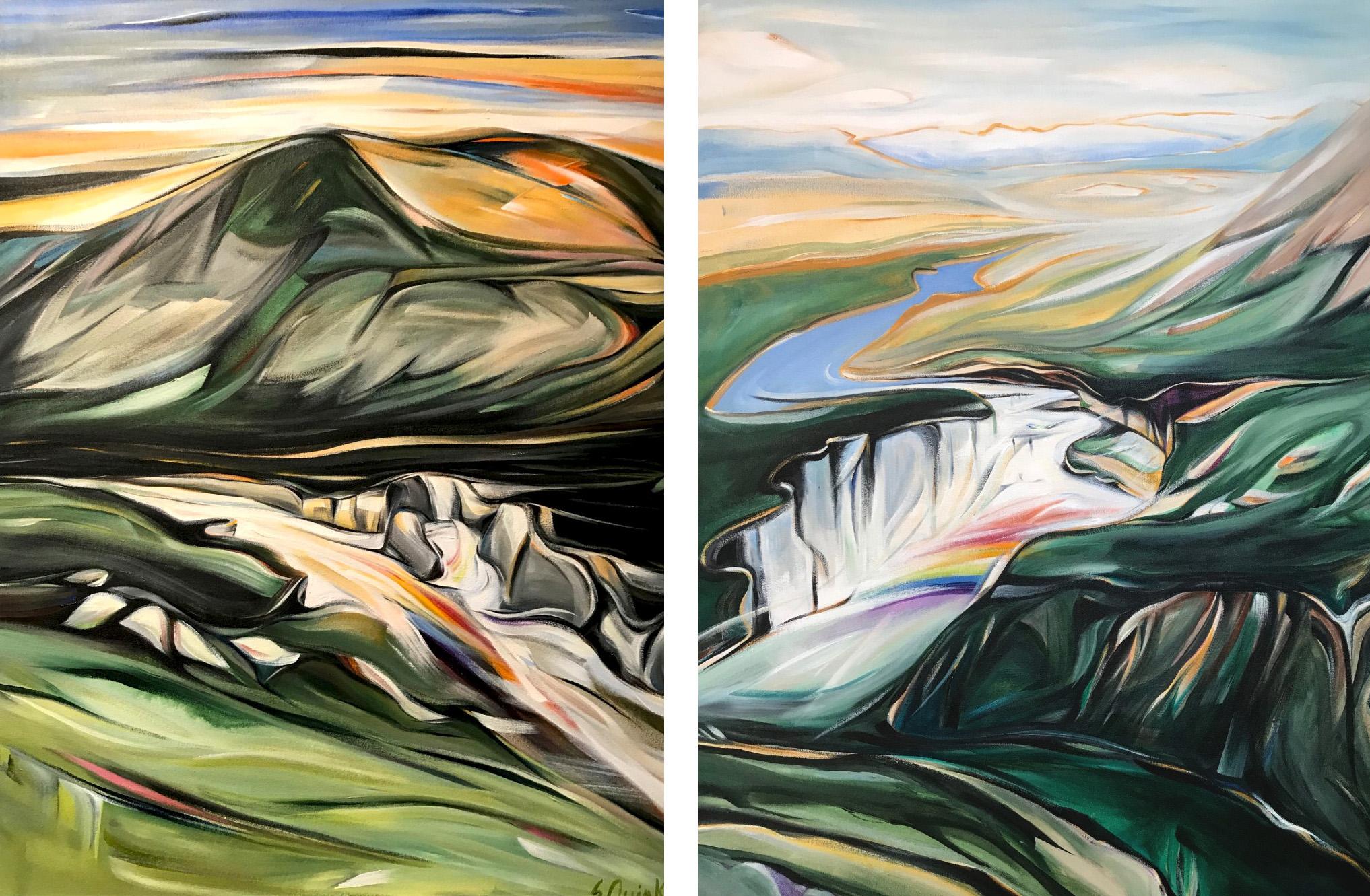 Sunblood Mountain & Victoria Falls