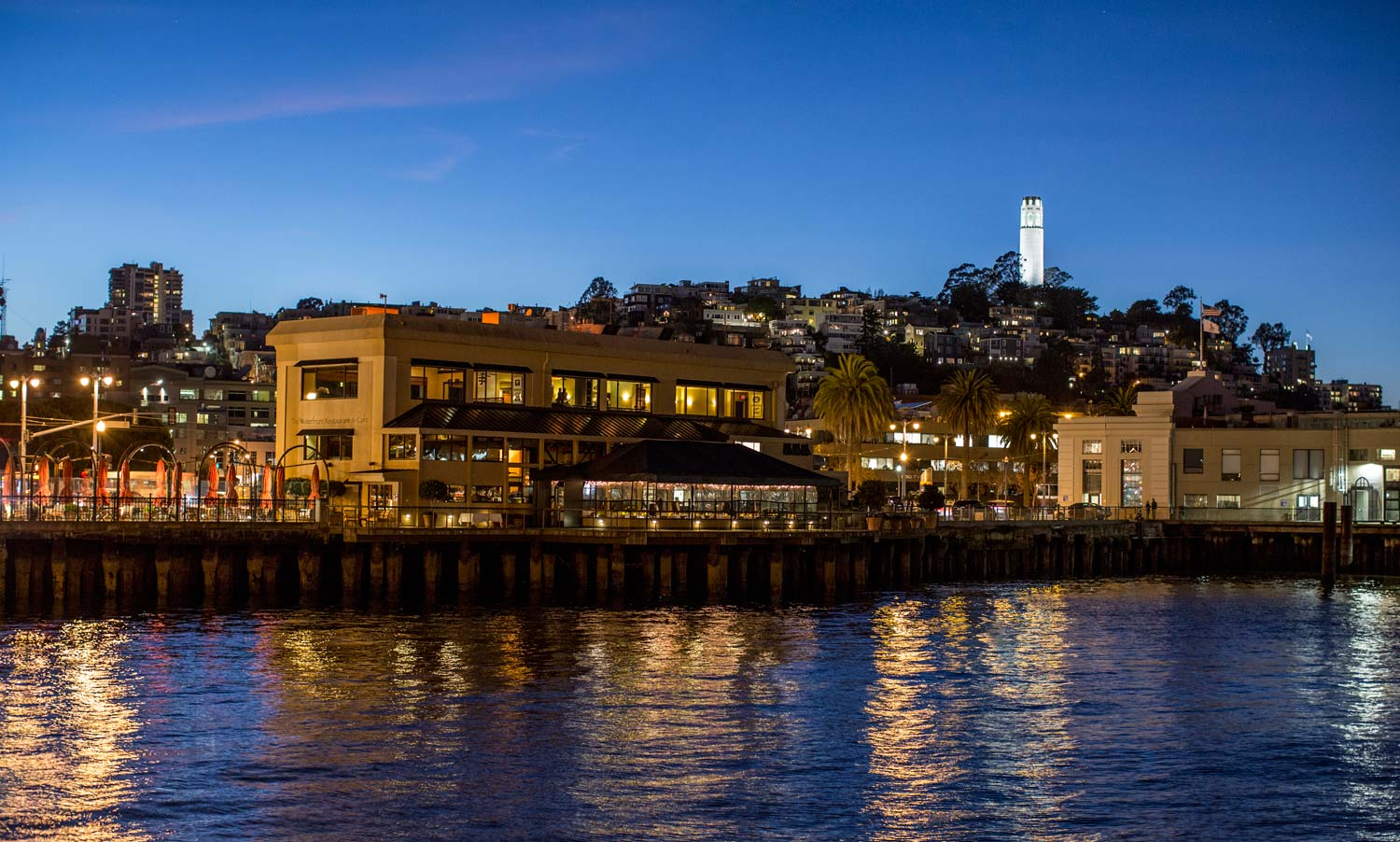 The Waterfront Restaurant A Premiere San Francisco Dining