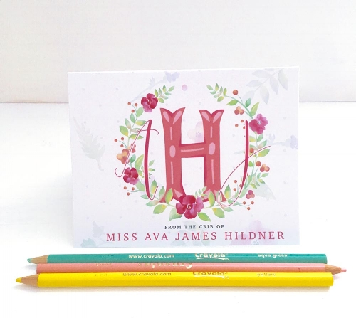 New Baby Stationery