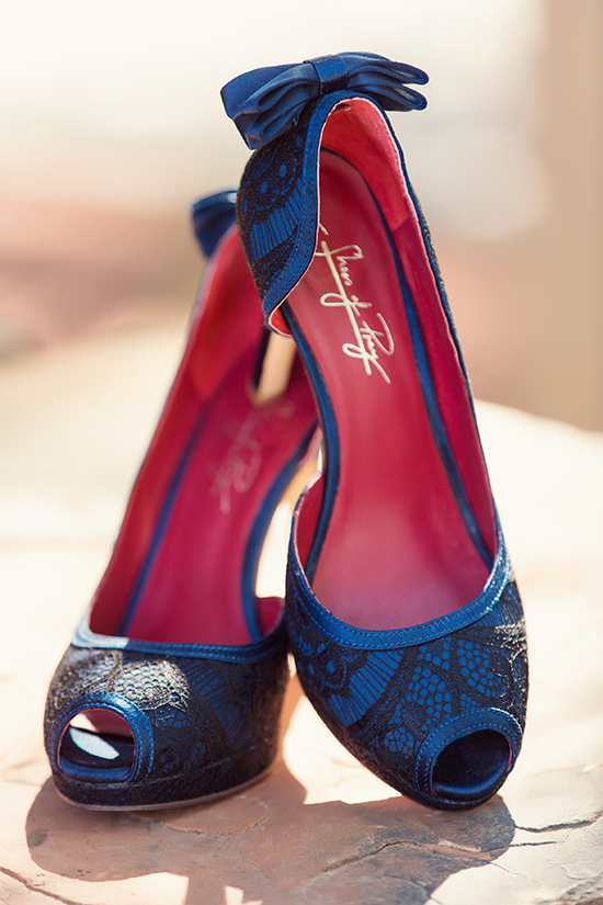 """Something Blue"" - Custom designed shoes from  Shoes of Prey"
