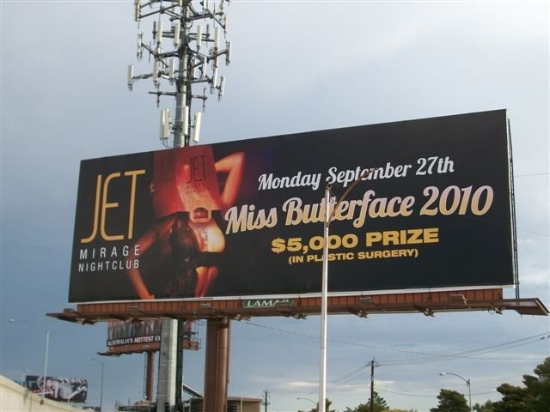 I almost can't believe I'm sharing this, and please don't judge me! Here's a billboard for an event I designed back in my Vegas designing days. In my early 20's the event concept didn't even phase me, that was just Las Vegas nightlife. Looking at it now it's pretty appalling. BUT...I spent a lot of time Photoshopping that bag so it looked real. That part I feel pretty proud about.