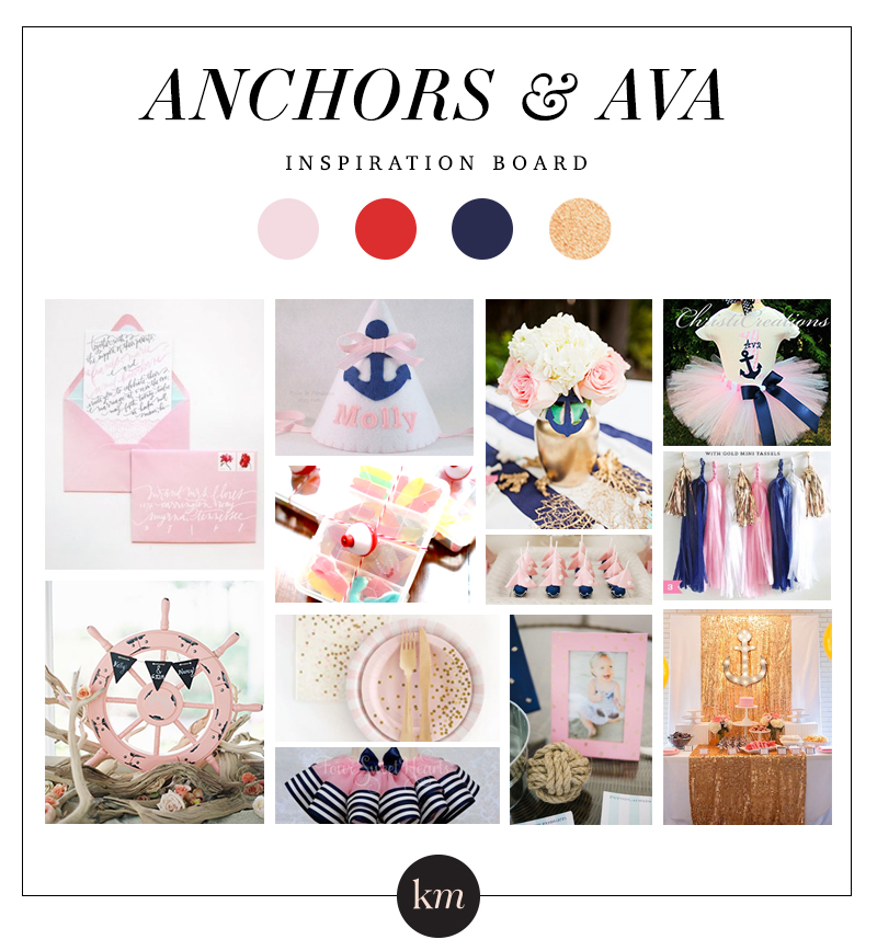 """It's no secret that Mommy is a little anchor obsessed. She tells me that a love for everything nautical is in my blood because I'm a """"legacy."""" Whatever that means! The anchor is a symbol for HOPE. I can get down with that!"""