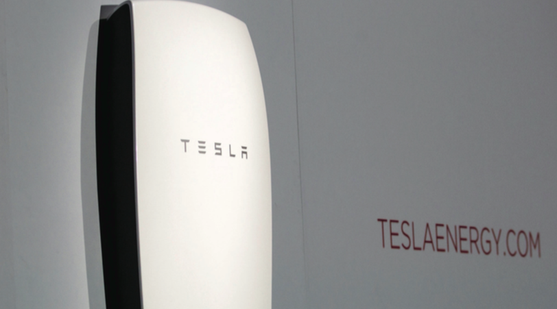 Tesla is likely to be first to market in household storage energy solutions with its consumer friendly Powerwall battery.