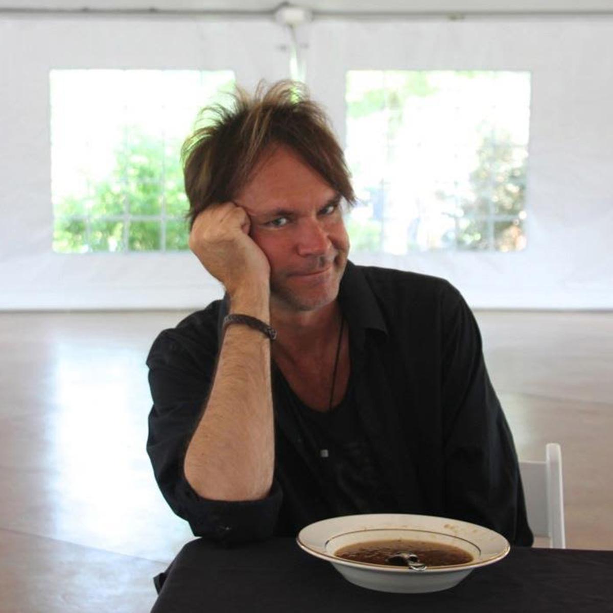 Craig bartock eating soup tawt