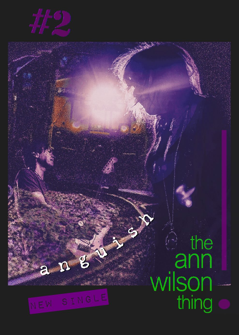 The ann wilson thing - anguish poster