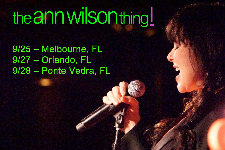 the ann wilson thing september 2016 Florida