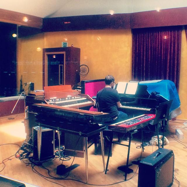dan walker keyboard studio