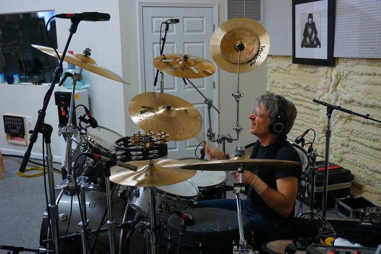 Denny Fongheiser drums awoh