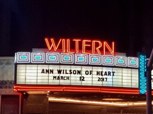 wiltern ann wilson