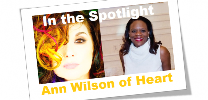 in the spotlight with ann wilson