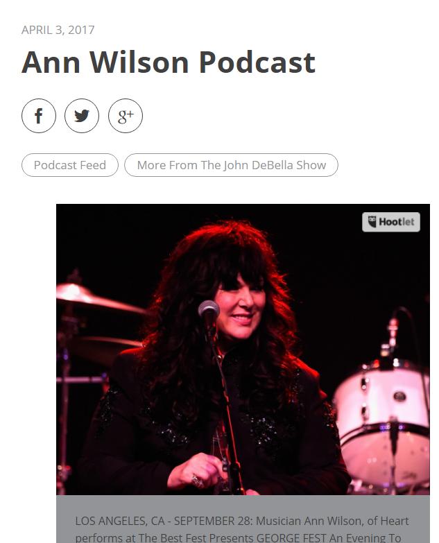 ann wilson podcast