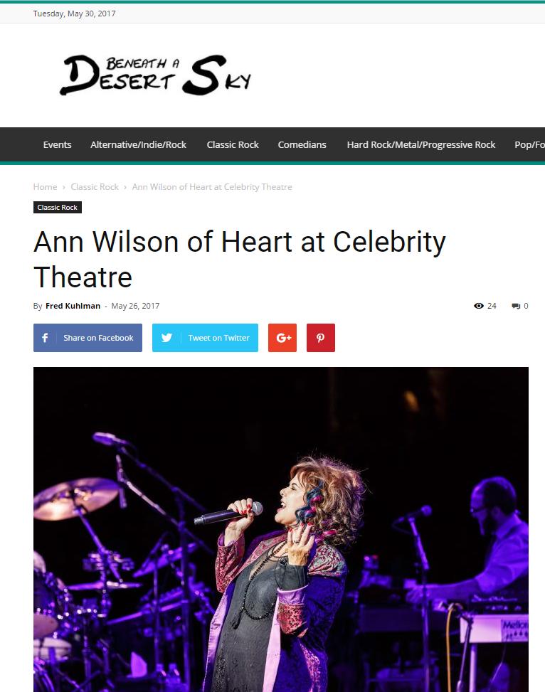 ann wilson heart