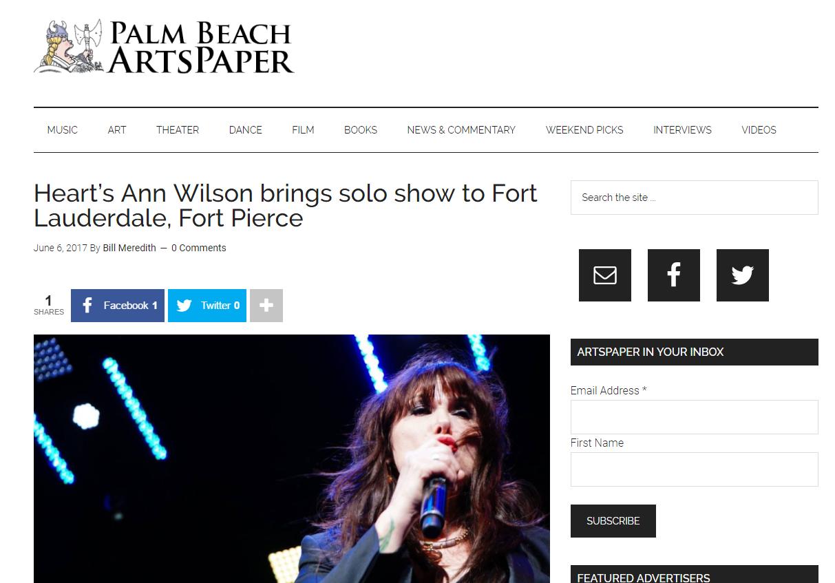 ann wilson in florida