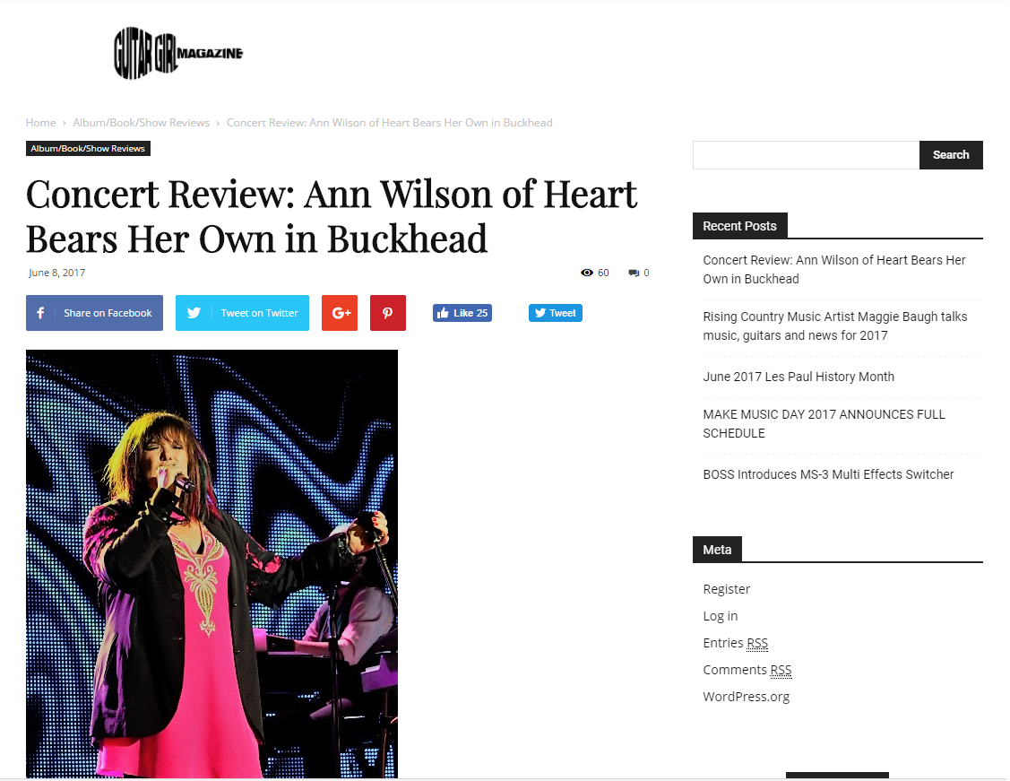ann wilson singer