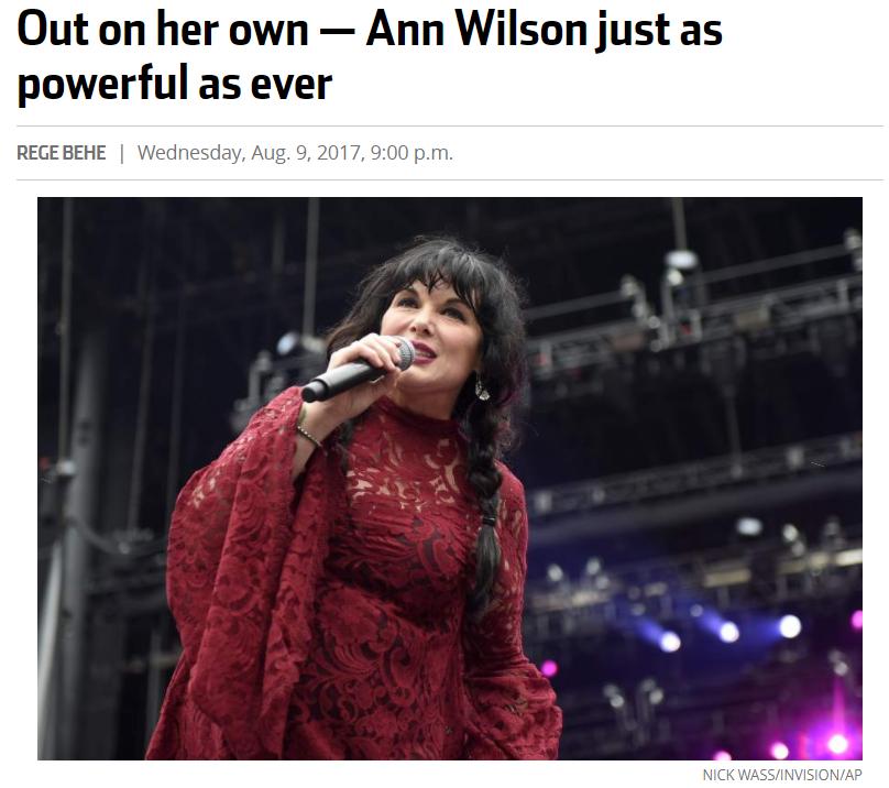 ann wilson of heart
