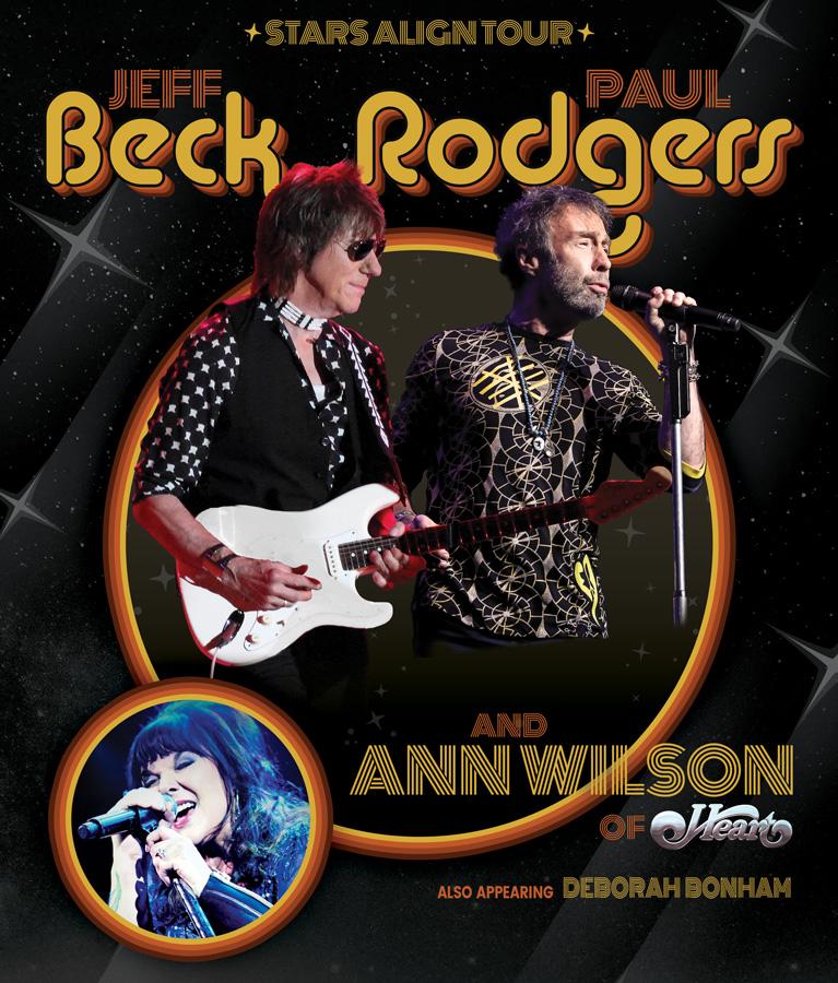 Jeff Beck Roger Waters Ann Wilson