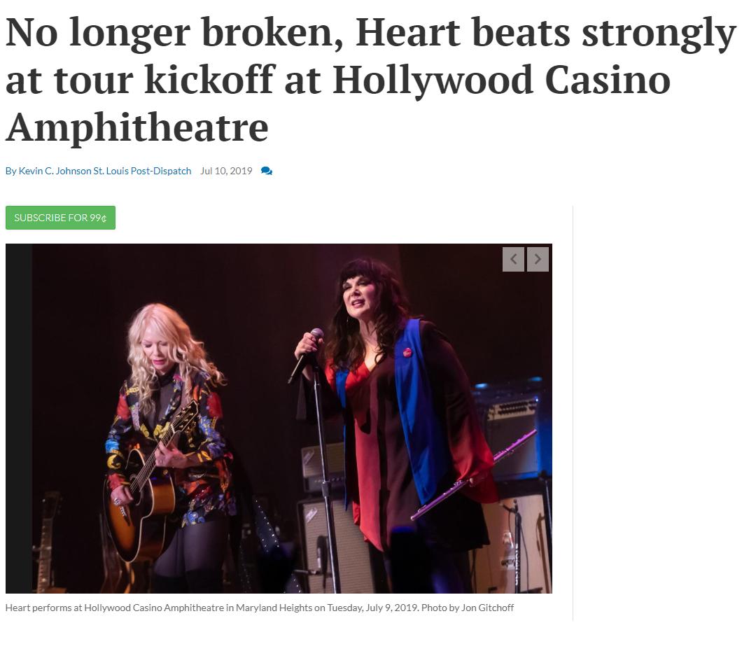 heart first show