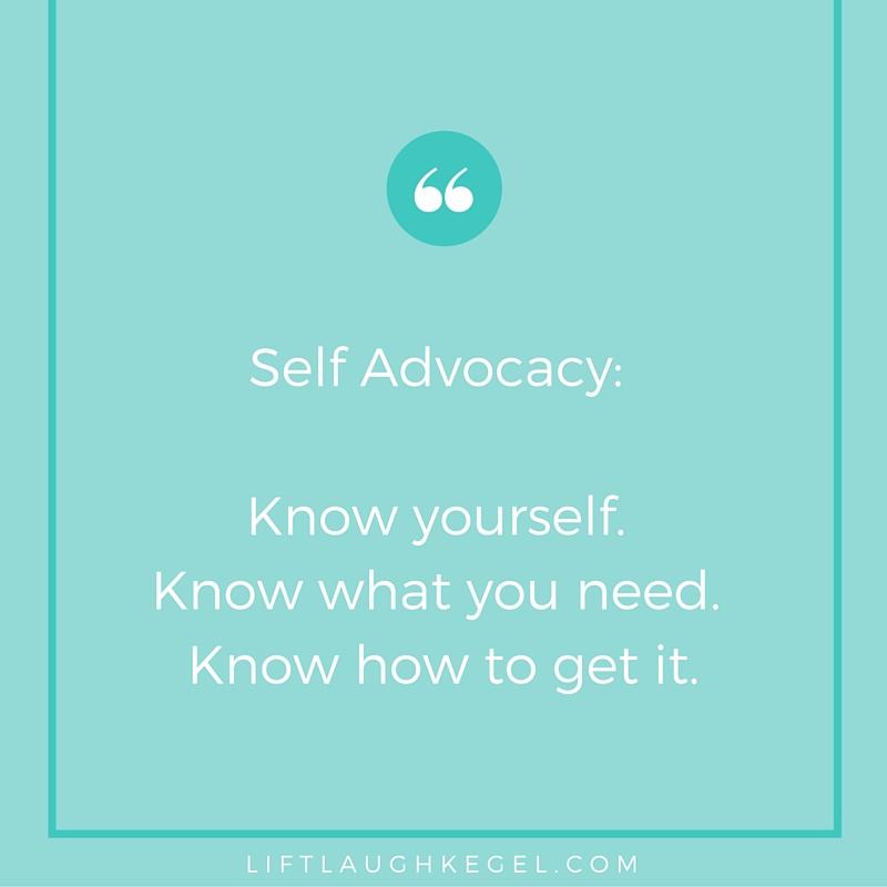 Patient Self Advocacy