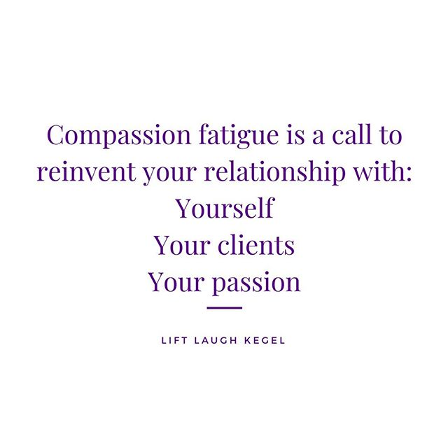 Your compassion fatigue is a wake up call boo. Your spirit, mind, and body are clear — you CANNOT keep going along the way you have been. It's time for an evolution. . . The way I see it you have two choices: embrace the change that's trying to happen within you or spend your time trying to avoid it. Taking endless courses. Switching your area of focus. Changing jobs. Always searching for peace, yet finding dissatisfaction and the same patterns come up time and again. . . It may be that your setting, caseload, and passion have changed. But have you stopped long enough to ask yourself those questions? Practice stillness, not waiting. Sit with yourself without distraction and ask: - What do I see happening here? - What am I feeling? - What am I getting out of this current pattern I'm stuck in? - What would bring me peace? . . You have the answers within you. Healing from compassion fatigue will require you to go deeper into yourself. To step back into the house that's your metaphorical life and make it into a home. . . When I struggled the most, I was doing everything possible to get away from myself. I knew that my intuition and highest self was going to set me straight and I didn't want to hear it! That's okay too. That season taught me many lessons too... like what didn't work. It was a start. To know what doesn't serve you, doesn't bring you joy, and doesn't give you peace means you are steps closer to finding your YAS factors. . . Finding your yes means you will inevitably reinvent many facets of your life. The way you talk & love yourself. The way you show up for others. The way you approach your work & how you serve others. Remember, our best relationships are open to growth! Start with your longest relationship: YOU💕