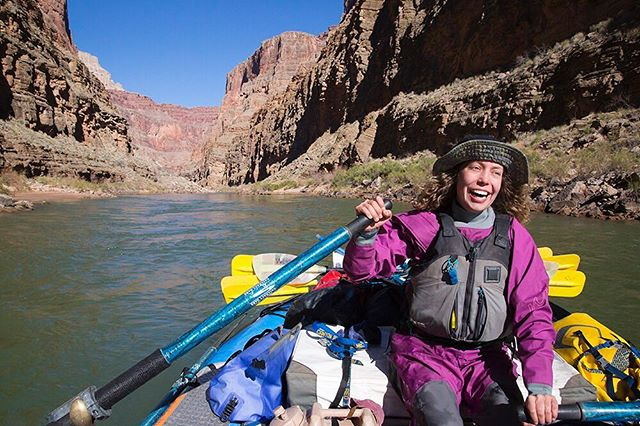 I got to share a tent for two weeks with this smiley gem!! @alhaal #grandcanyon #coloradoriver #500punsaboutrams