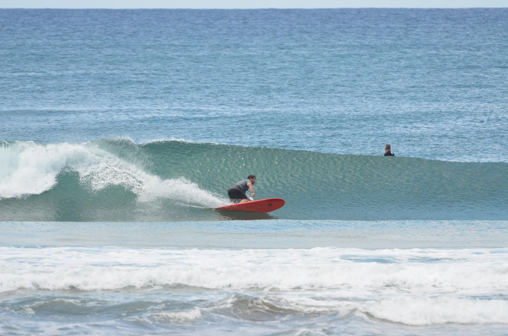 "Surfing in ""Colorados"" Nicaragua."