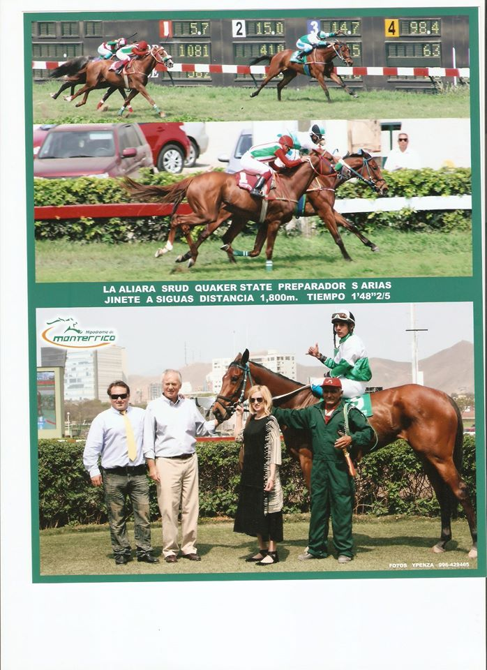 Another family win with LA ALIARA filly.