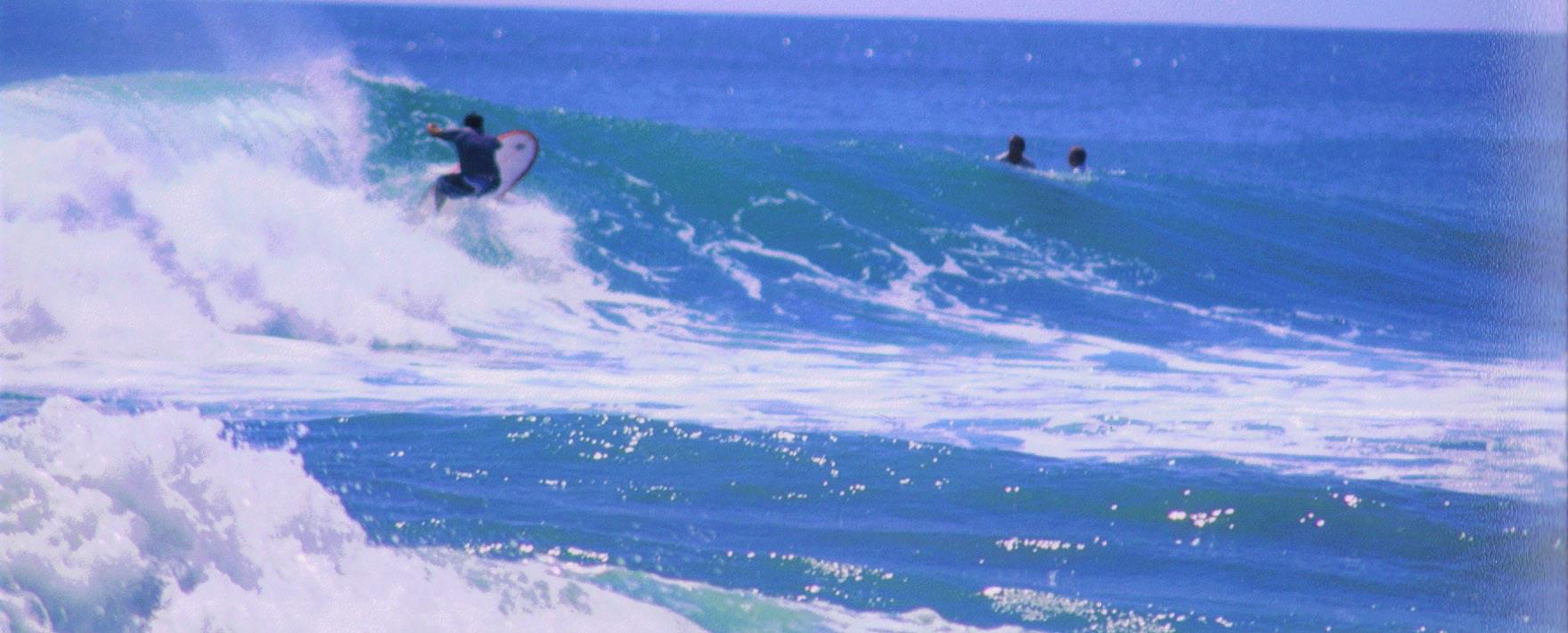 """Surfing in """"Maderas"""" Nicaragua"""