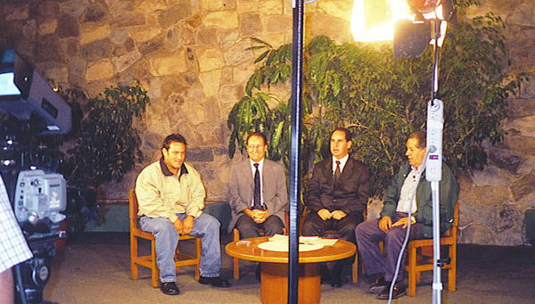 Invited to a TV program of Horse Racing.
