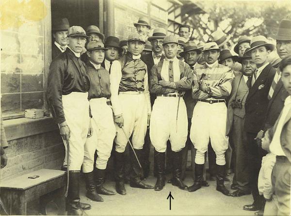 My Grand Father Juan Magot Rosello, in his Jockey days.