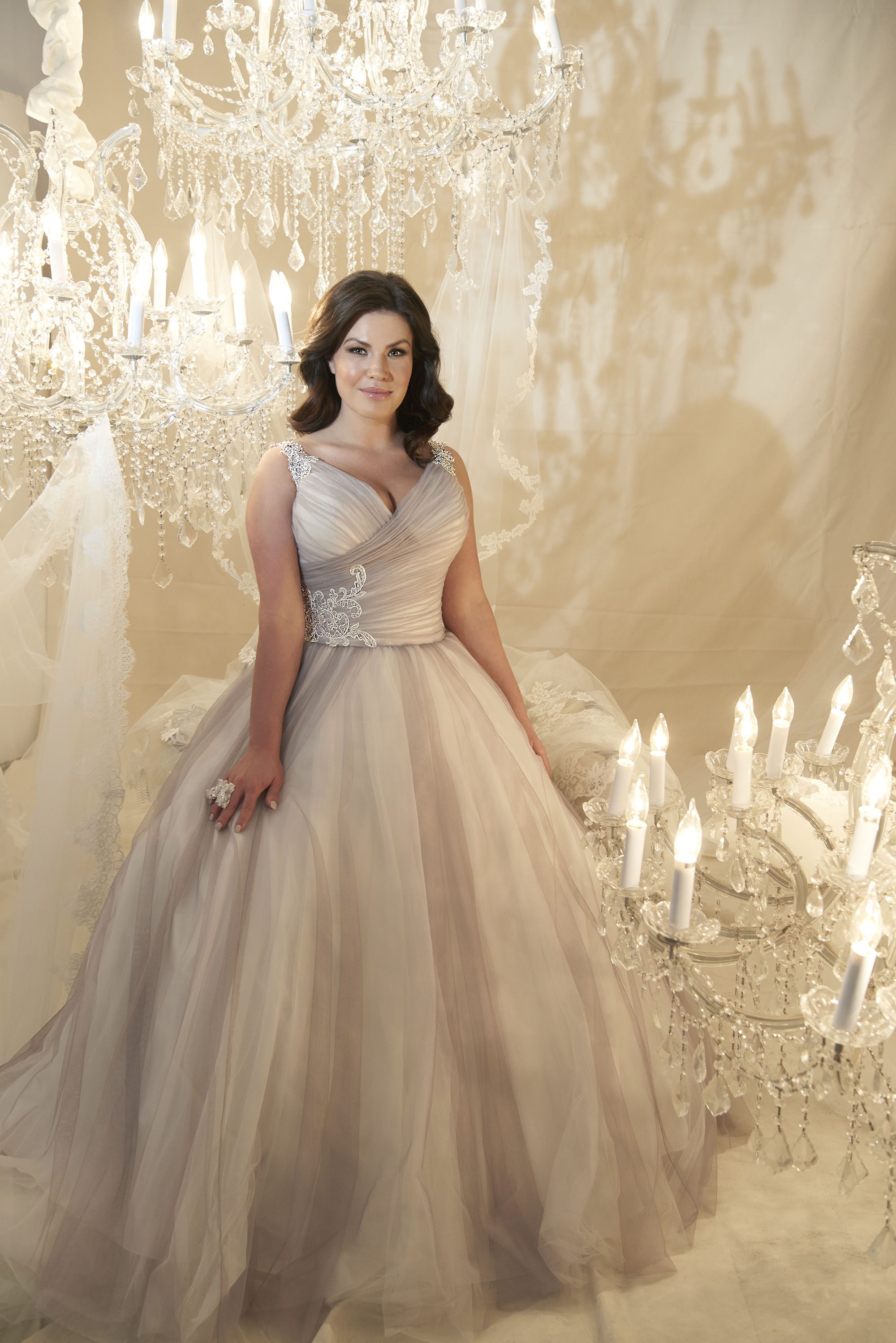 This stunning gown from  Callista  is expected in the store this Summer in Ivory.