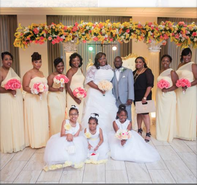 Our first Curvy Rose bride, Tavi on her wedding day. Photo credit:Forever Williams Photography