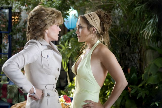 (Jennifer Lopez & Jane Fonda in Monster-in-Law)