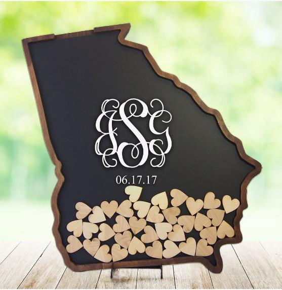 Guest Book Coosa Designs Curvy Rose Atlanta, GA