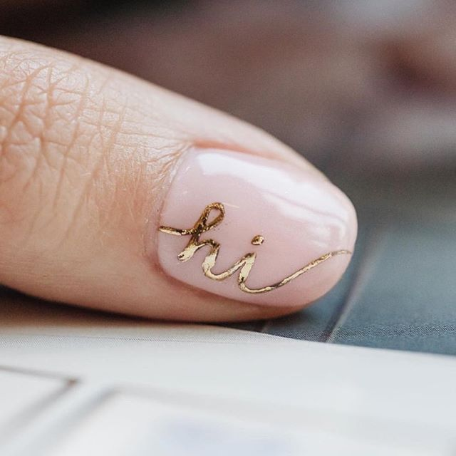 Hi!!! What a cute manicure!!! Just love the gold accent polish against the blush base color!!!⠀ ⠀ So, we haven't done intros in ages, but this weeks mani inspo by @cndworld is as great an excuse as any! We are a sister duo from So. Cal. and have been living in metro ATL for 15 years. We've been in the bridal game for four years with no industry experience. Who does that? 🤷🏾♀️😜⠀ ⠀ We love #fashion and are are sticklers for #inclusion. Little known fact - we have a brother who who is 18 years younger than big sis Kanika, 13 years younger than me AND we all have the same parents (gulp)! ⠀ ⠀ If you're new to our page, take a listen to the recent @broomstickweddings podcast where we share a bit more about who we are and what we do. Link is in the profile!☝🏾⠀ ⠀ #ChooseLove #BeaLove #BeaYou #BeaU⠀ ⠀ 🌹⠀ .⠀ .⠀ .⠀ #curvyrose #curvyrosebridal #wearecurvyrose #BeLove #BeYou #curvybrides #bodypositivebridal #sizeinclusivebridal #bridalstylist #bridalstyling #curvybridalgowns #2019bride #2020bride #atlantabride #engaged #weddingdresses #weddinggown #bridalgown #bridaldress #atlantaweddings 🌹
