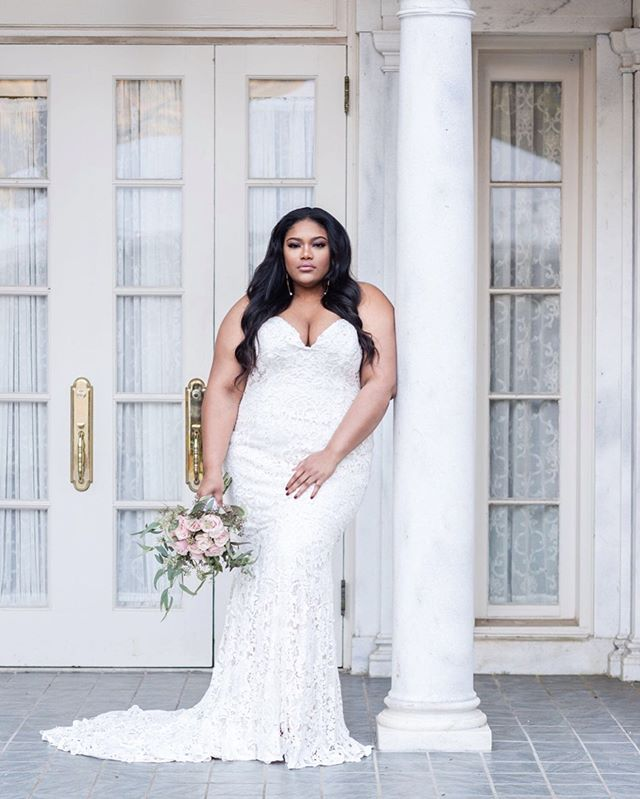 We enjoy finding ways to show the beauty of all women and especially those that are often overlooked. Here's a throwback to one of our photo shoots from last Fall... #Repost👇🏾👇🏾👇🏾 As a size inclusive bridal shop, creating content that displays curvy brides can be somewhat challenging. We don't have the luxury of using photos provided by our designers because most of them don't provide pictures of their gowns in a wide range of sizes. It's also hard to find real brides to post for the world to see. What most people don't know is that we carry gowns from main designer collections, not just plus-size collections. ⠀ ⠀ Body positive images do matter and we, as a size-inclusive brand, believe it is important for women to see beautiful brides in all sizes without pretense or apology. So, we decided to create these images ourselves. We are so grateful to all the ladies who joined us in making sure that these images are seen. We are all a group of curvy creatives who believe its time to declare that #BeaUty is not a number.  #whatmorecanwesay #bodypositiveimagesmatter⠀  #ChooseLove #BeaLove #BeaYou #BeaU  Styling & Creative Direction: @wearecurvyrose Model: @_takeylaross Florist: @lafleur_chick Hair/MUA: @jamilatarisai Photographer: @anicolephotosatl 🌹 . . . #curvyrose #curvyrosebridal #wearecurvyrose #BeLove #BeYou #curvybrides #bodypositivebridal #sizeinclusivebridal #bridalstylist #bridalstyling #curvybridalgowns #2019bride #2020bride #atlantabride #engaged #weddingdresses #weddinggown #bridalgown #bridaldress #atlantaweddings 🌹