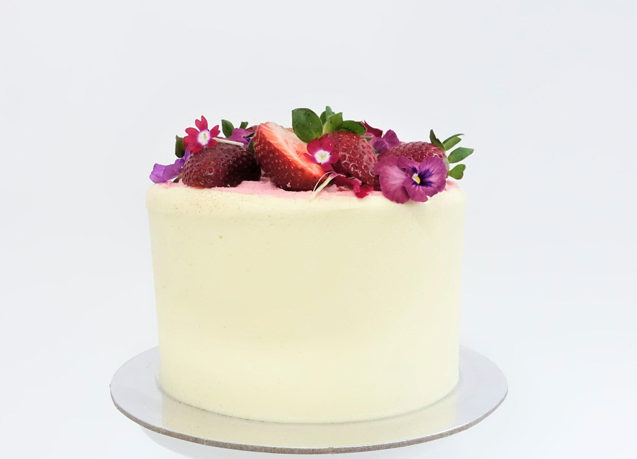 Strawberries and cream layer cake Vanilla Pod (1).JPEG
