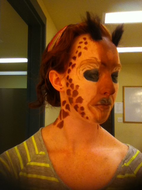 Giraffe-3/4 Profile