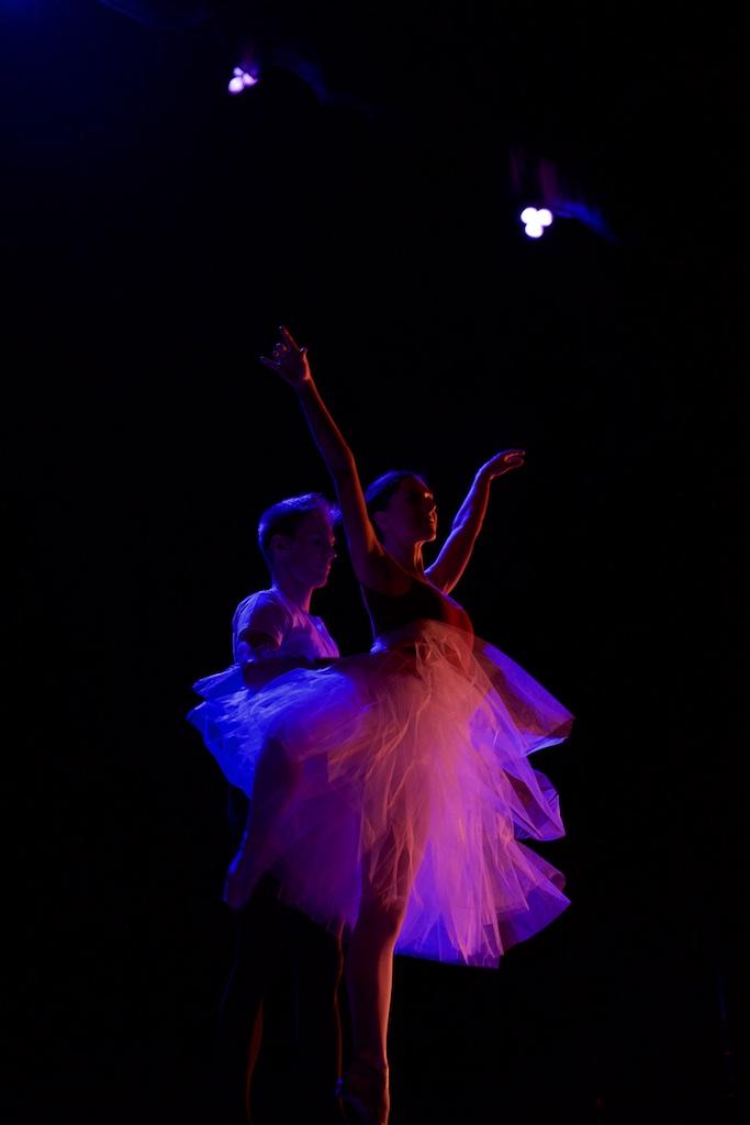 """Ballet dancers in """"At the Ballet"""""""