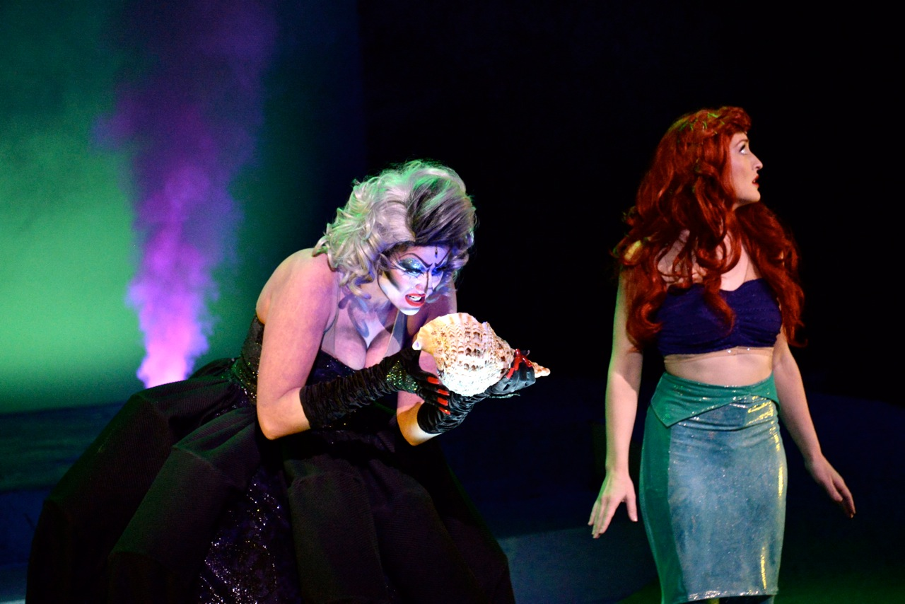 "Ursula and Ariel  in ""Poor Unfortunate Souls"""