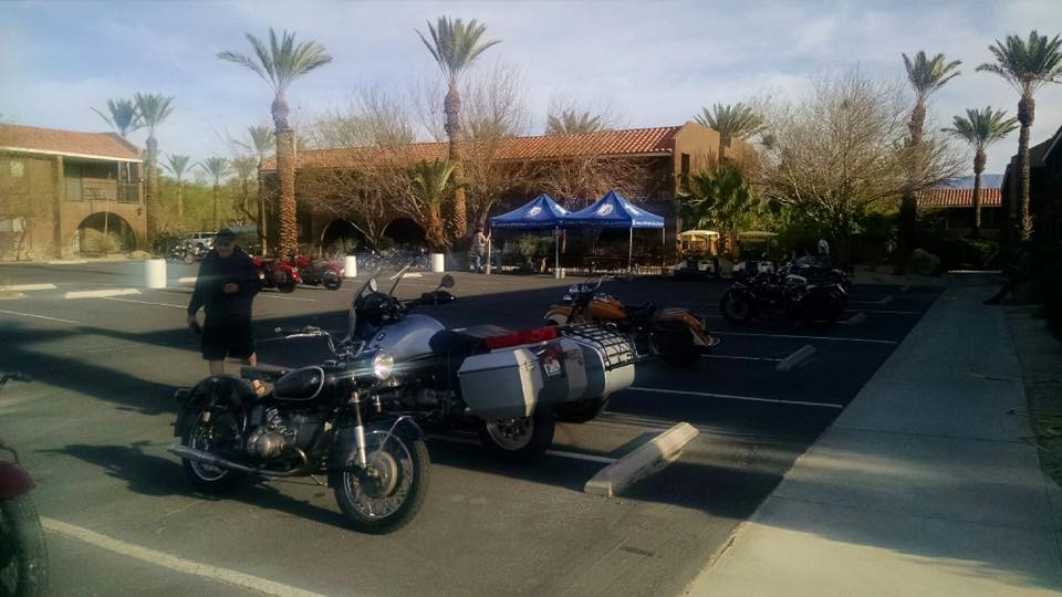 Wednesday, March 2 - Getting ready for Salton Sea ride.