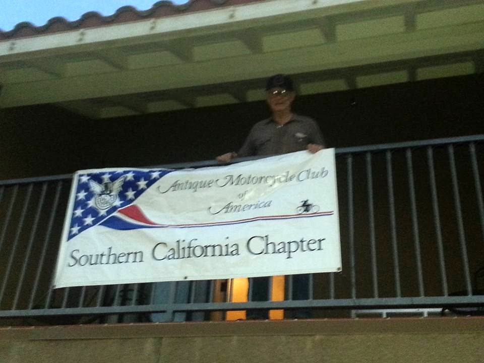 Thursday, March 3 - SoCal AMCA banner is up!